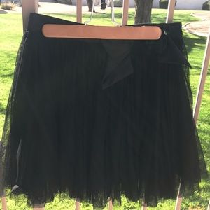 Forever 21 Chiffon Skirt with Bow